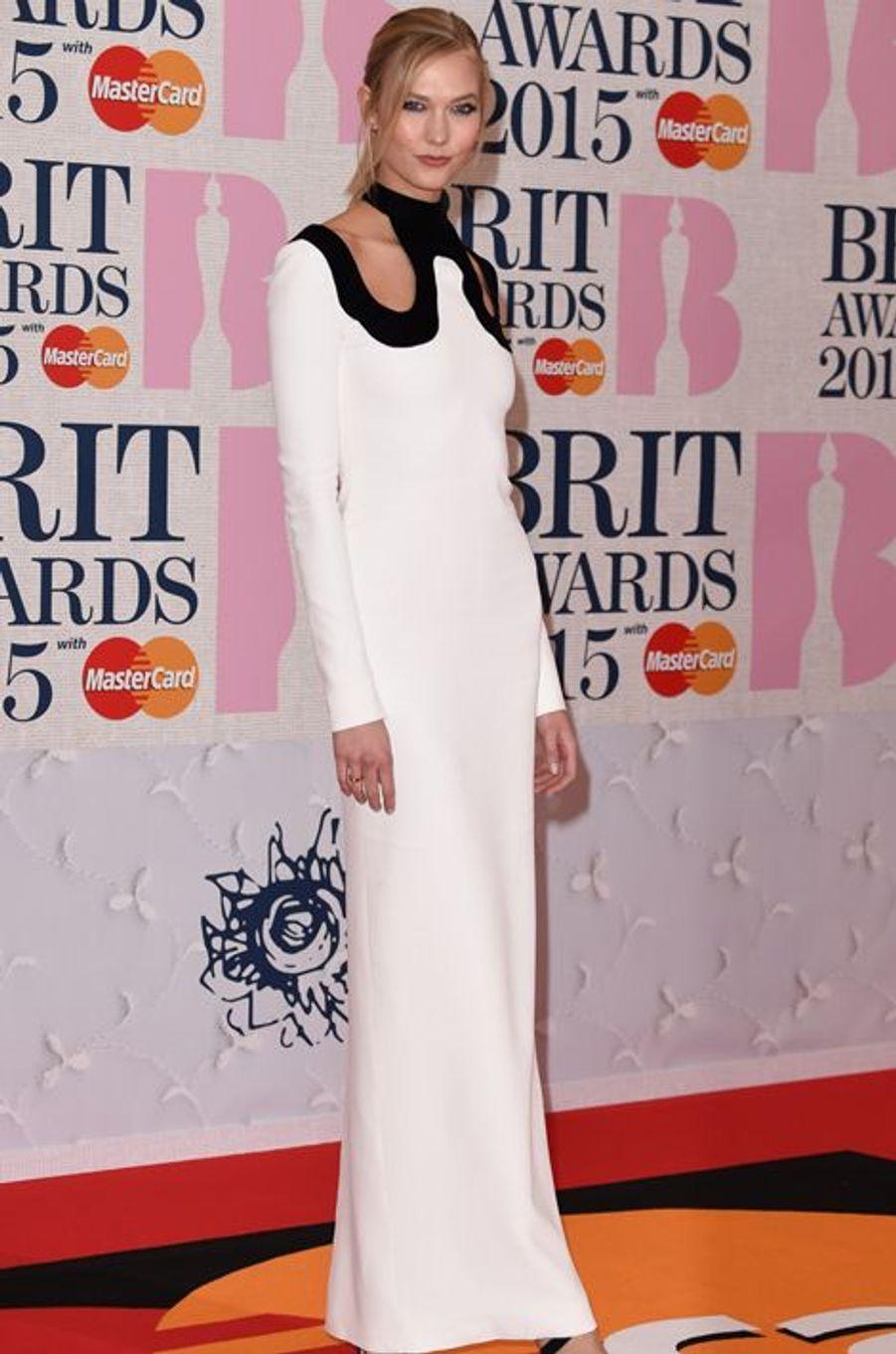 Karlie Kloss à Londres le 25 février 2015