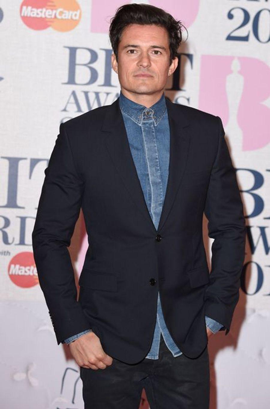 Orlando Bloom à Londres le 25 février 2015
