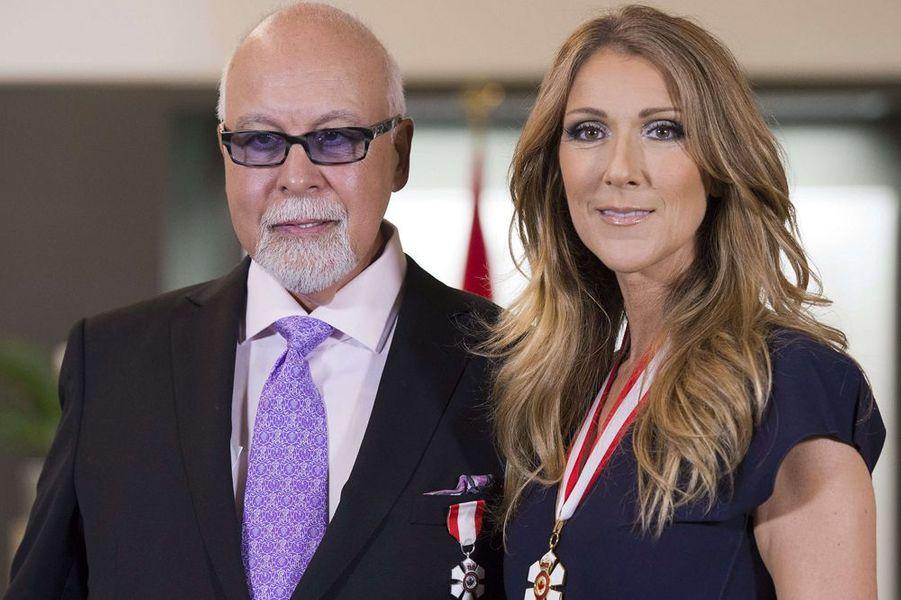 Céline est décorée de l'Ordre du Canada, juillet 2013