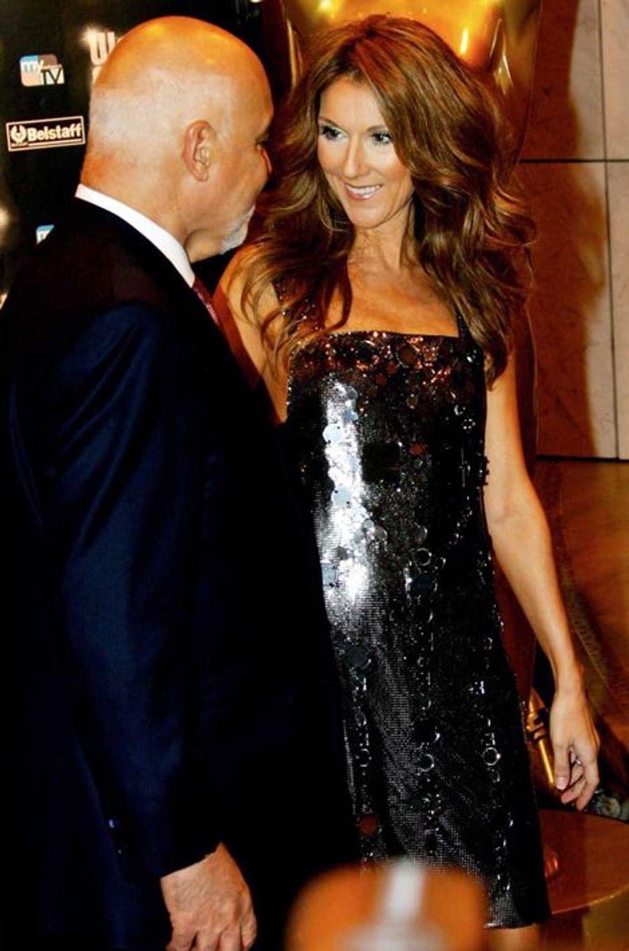 Céline et René aux World Music Awards, à Monte Carlo, 2007