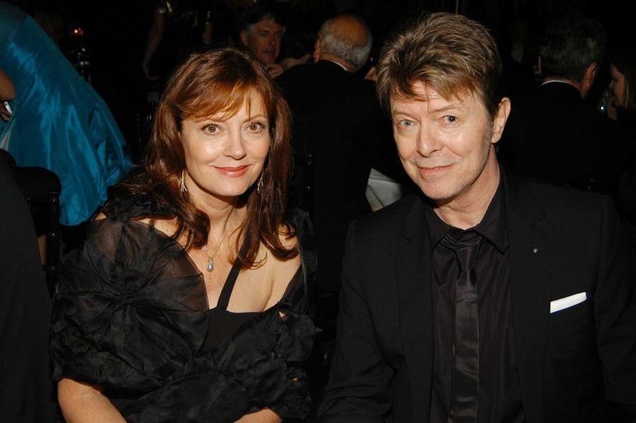 David Bowie avec Susan Sarandon