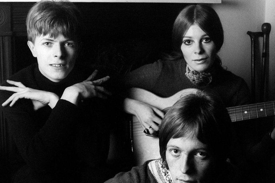 David Bowie et Hermione Farthingale, 1968