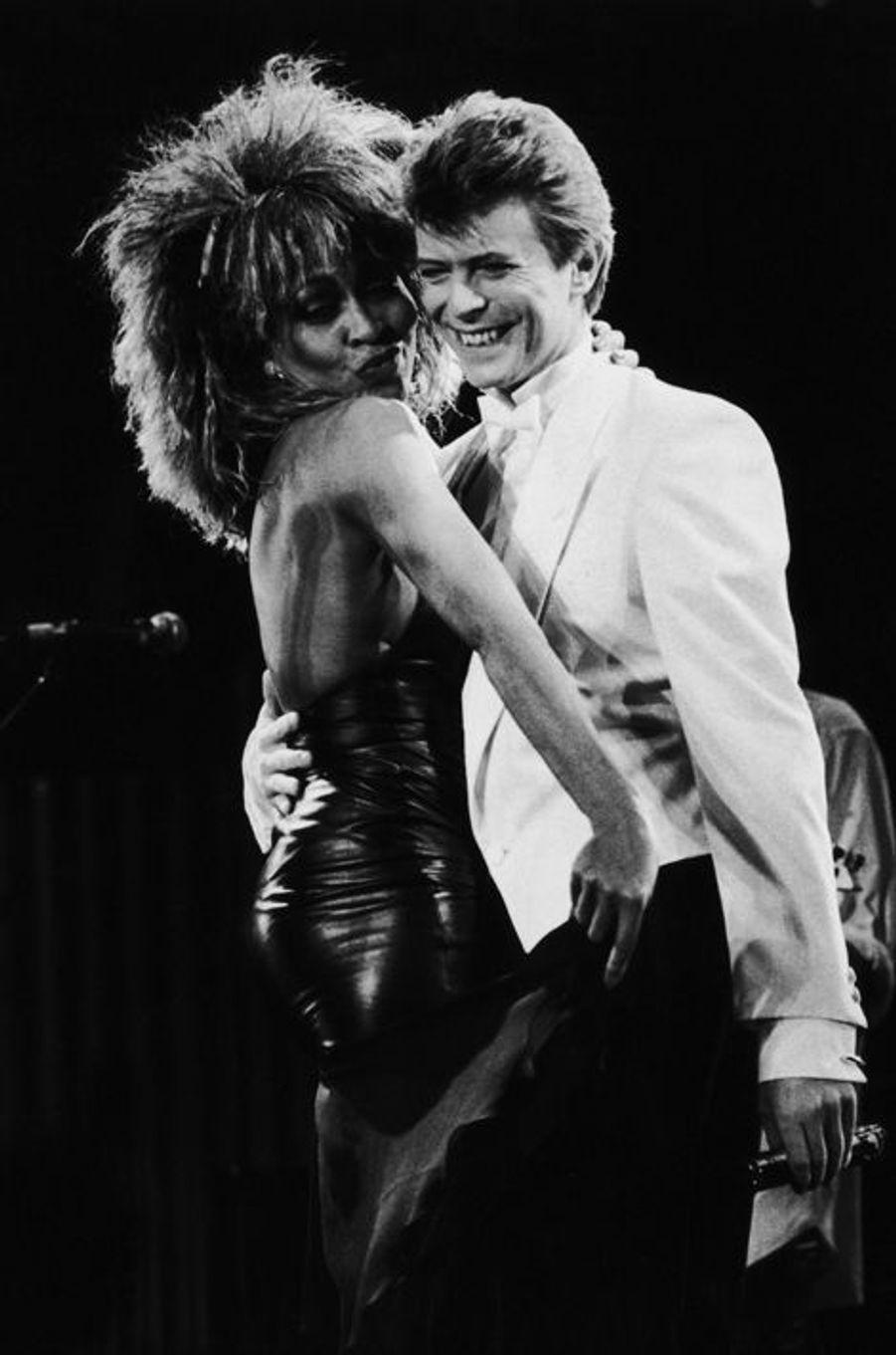 David Bowie et Tina Turner