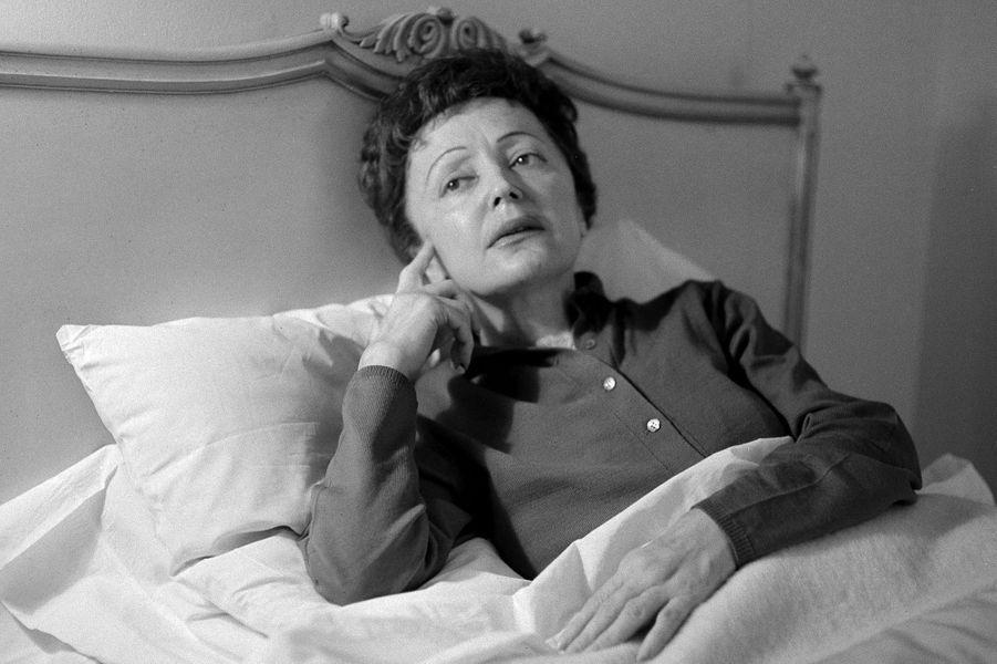 20 février 1959 : Malade, Edith Piaf annule son concert à New York.