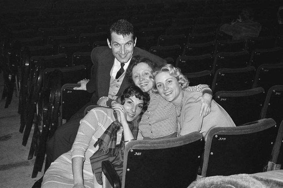 6 février 1958 : Edith Piaf et Félix Marten à l'Olympia