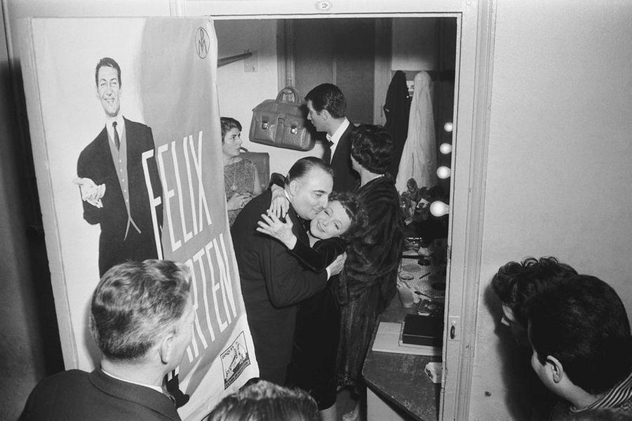 7 février 1958 : Edith Piaf et Bruno Coquatrix