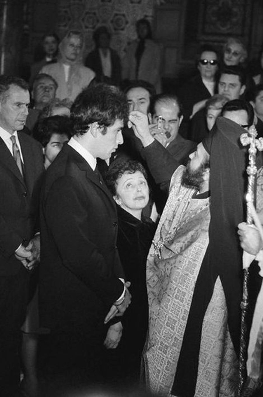 9 octobre 1962 : mariage d'Edith Piaf et Théo Sarapo
