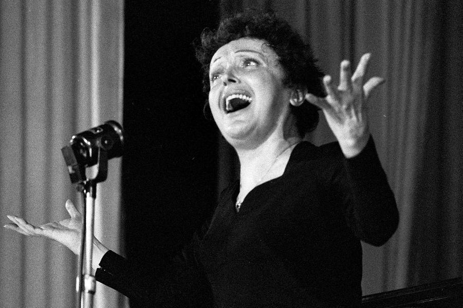 Novembre 1959 : Edith Piaf en concert à Melun