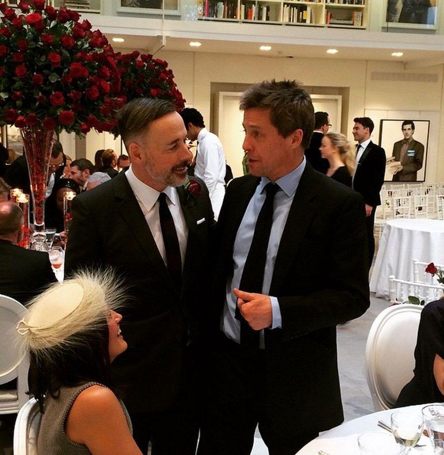 Avec Hugh Grant