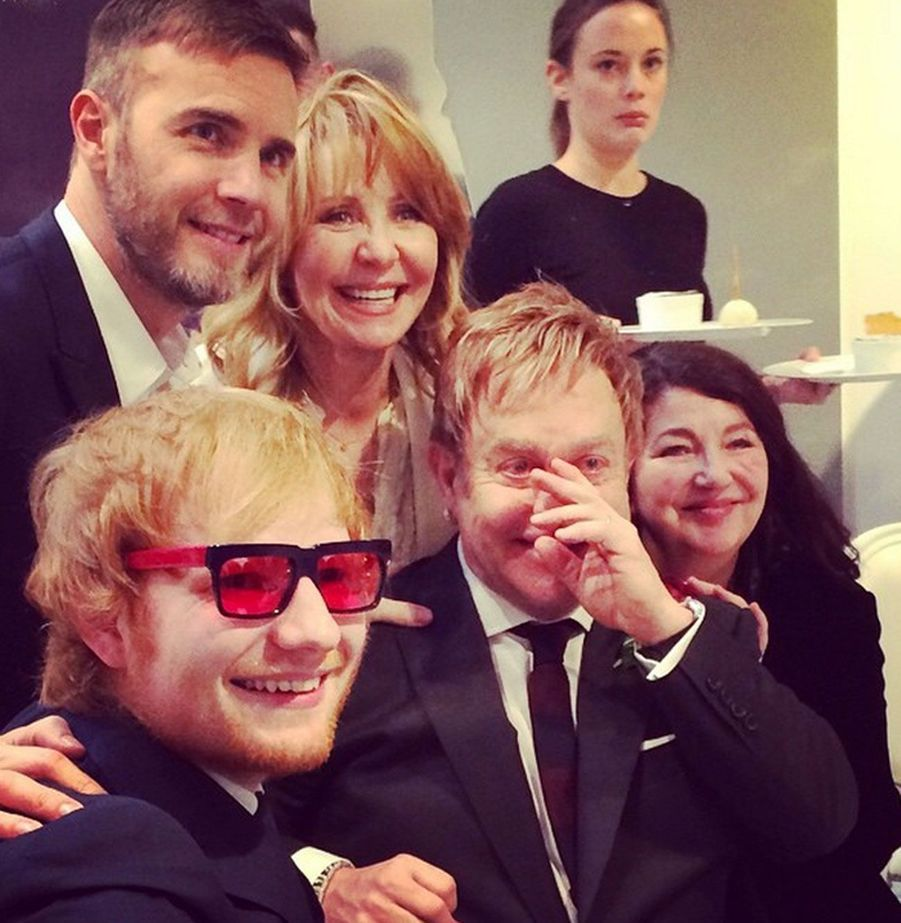 Elton, Ed Sheeran, Lulu