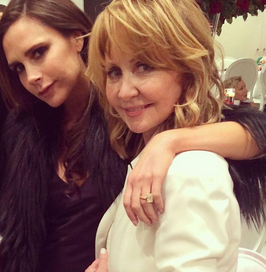 Lulu et Victoria Beckham