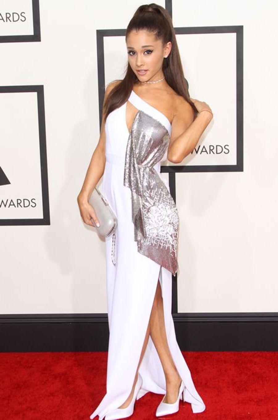 Ariana Grande à Los Angeles le 8 février 2015