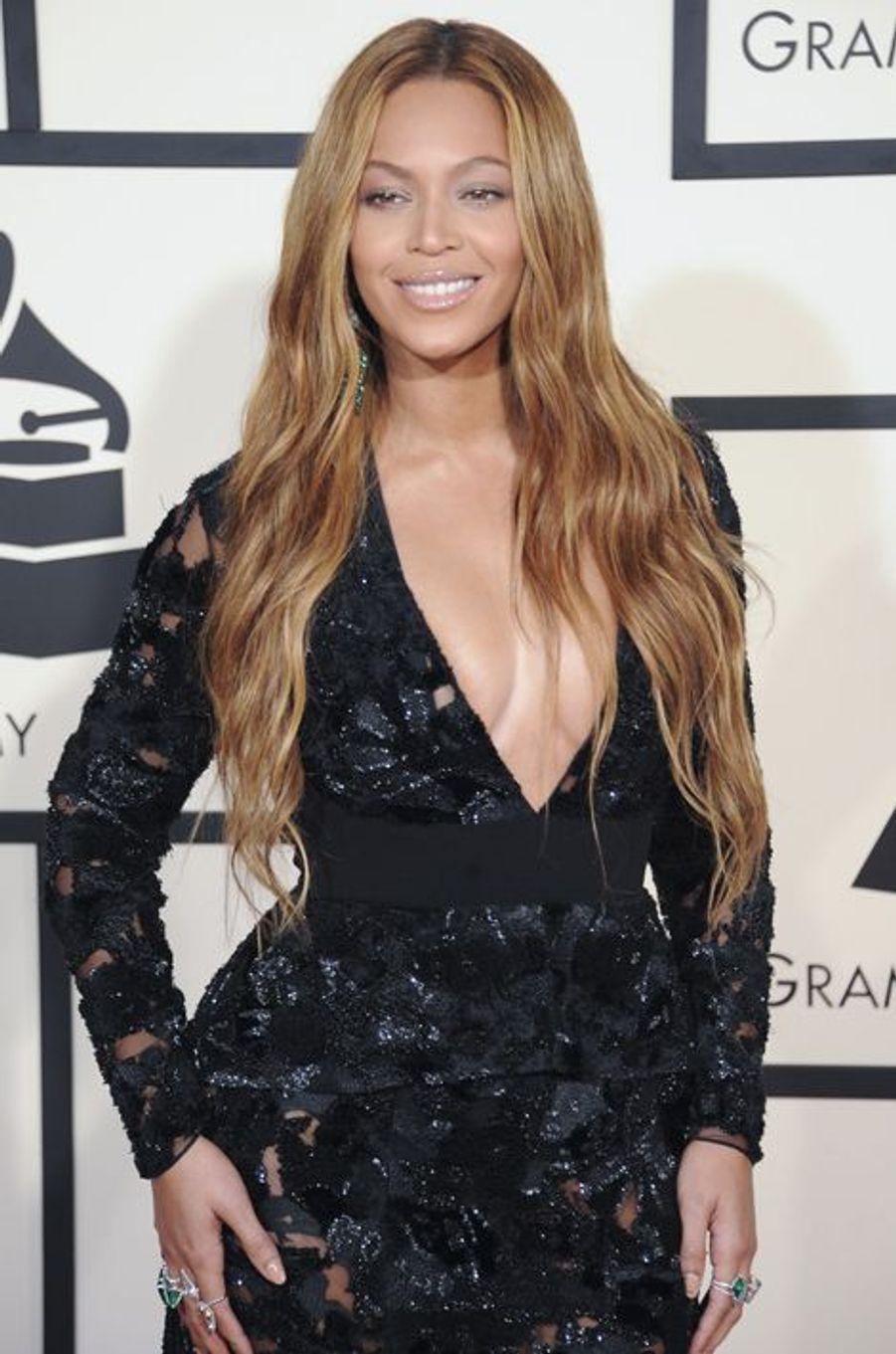 Beyoncé à Los Angeles le 8 février 2015