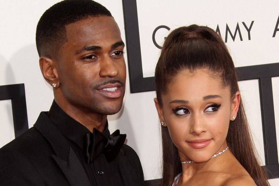 Big Sean et Ariana Grande à Los Angeles le 8 février 2015
