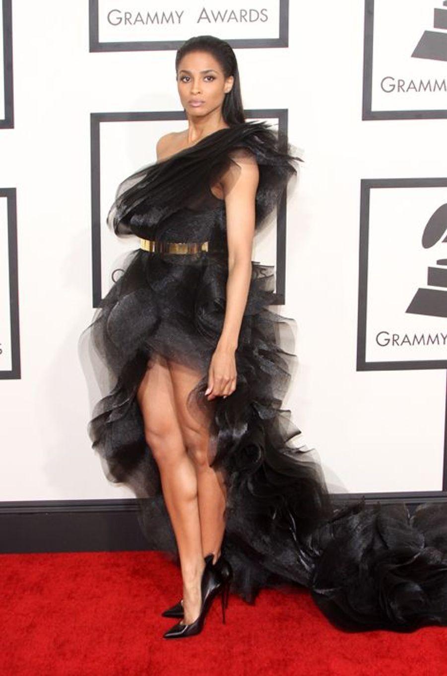 Ciara à Los Angeles le 8 février 2015