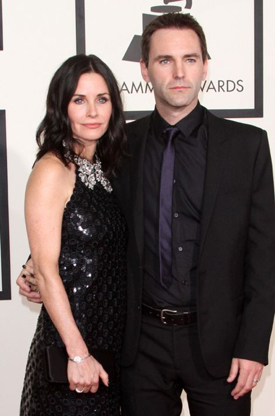 Courteney Cox et Johnny McDaid à Los Angeles le 8 février 2015
