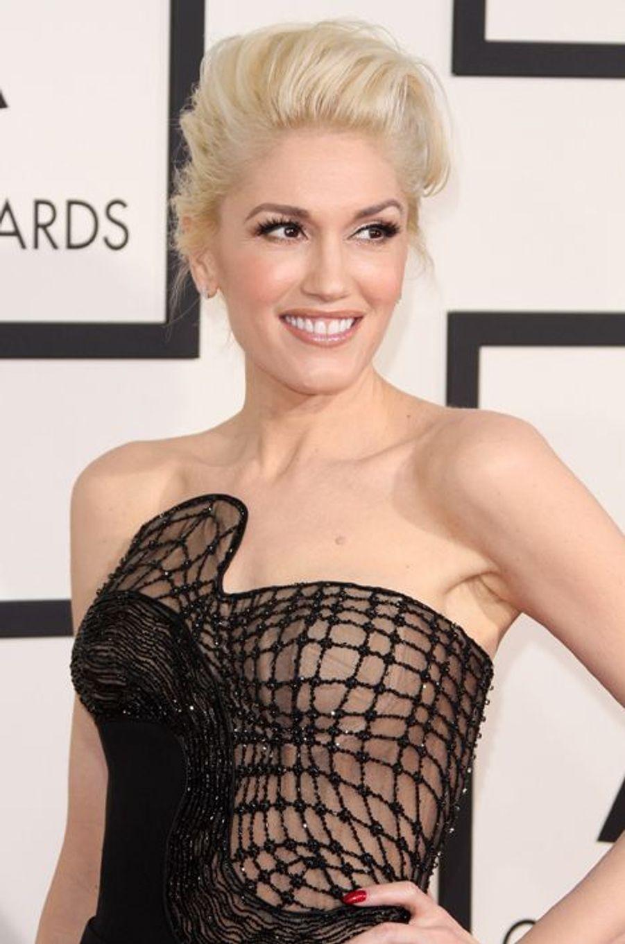 Gwen Stefani à Los Angeles le 8 février 2015