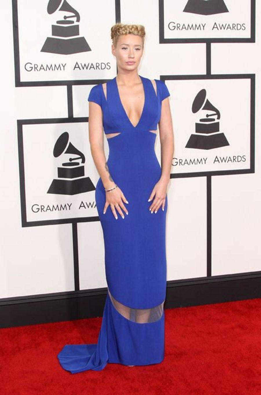 Iggy Azalea à Los Angeles le 8 février 2015