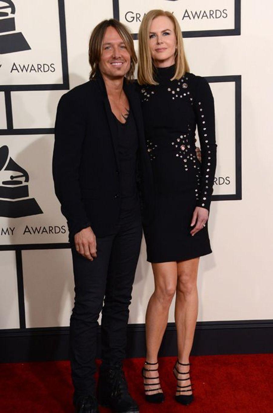 Keith Urban et Nicole Kidman à Los Angeles le 8 février 2015