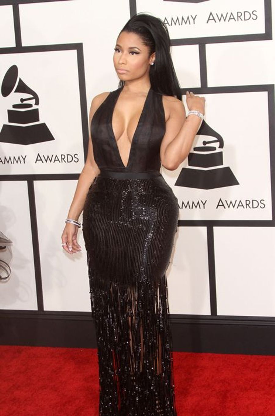 Nicki Minaj à Los Angeles le 8 février 2015