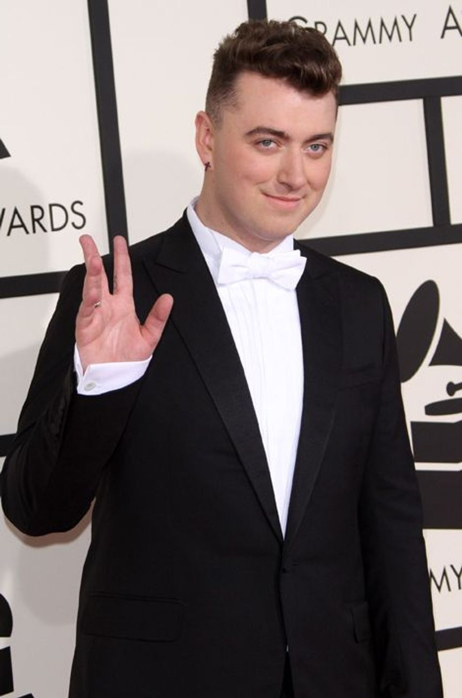 Sam Smith à Los Angeles le 8 février 2015