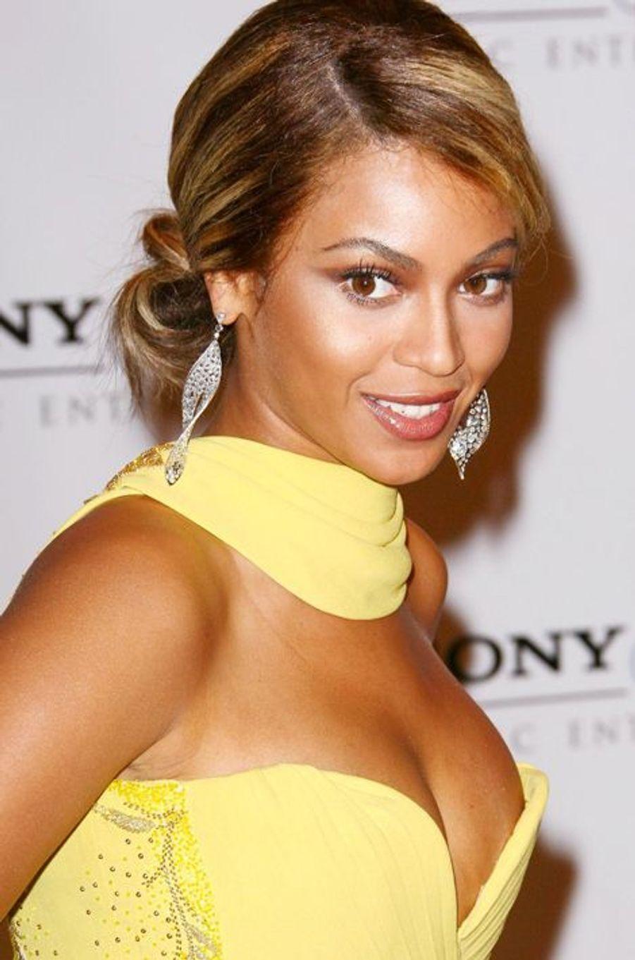 Beyoncé à la cérémonie des Grammy Awards 2008.