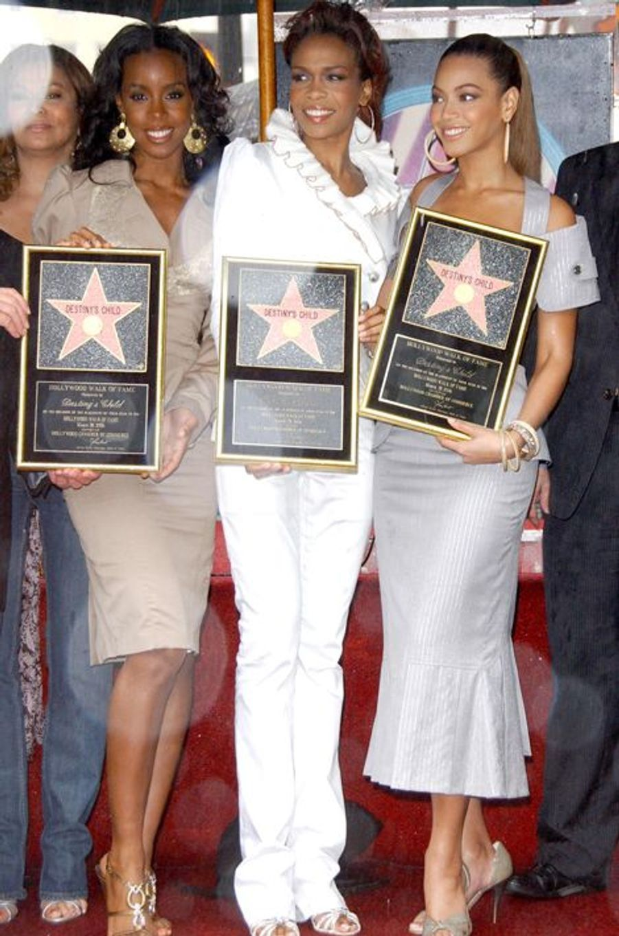 Le groupe Destiny's Child reçoit son étoile sur le Hollywood Walk of Fame, 28 mars 2006.