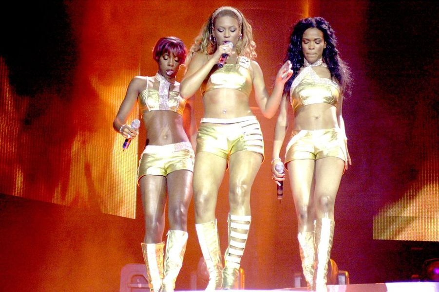 Les Destiny's Child en concert à Pittsburgh, août 2001.