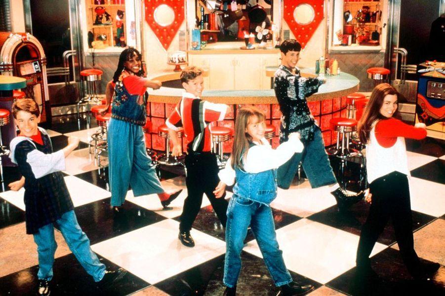 "1995. Britney intègre le ""Mickey Mouse Club"" avec Ryan Gosling, Justin Timberlake, Christina Aguilera..."