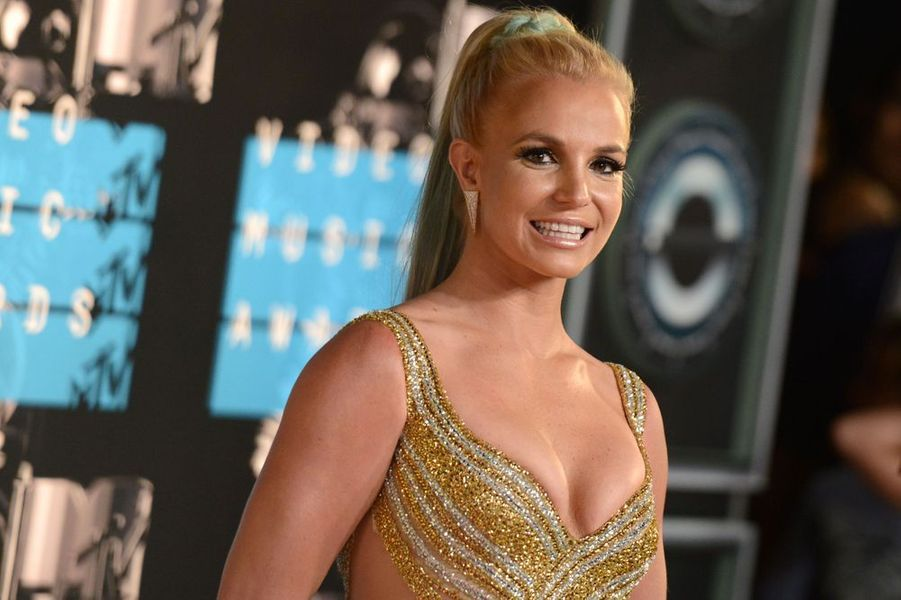 Britney Spears aux MTV VMA 2015, 30 août 2015.