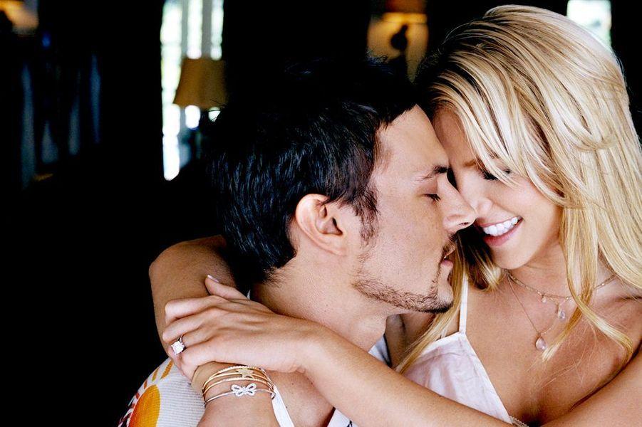Britney Spears et Kevin Federline, en couple, en juin 2005.