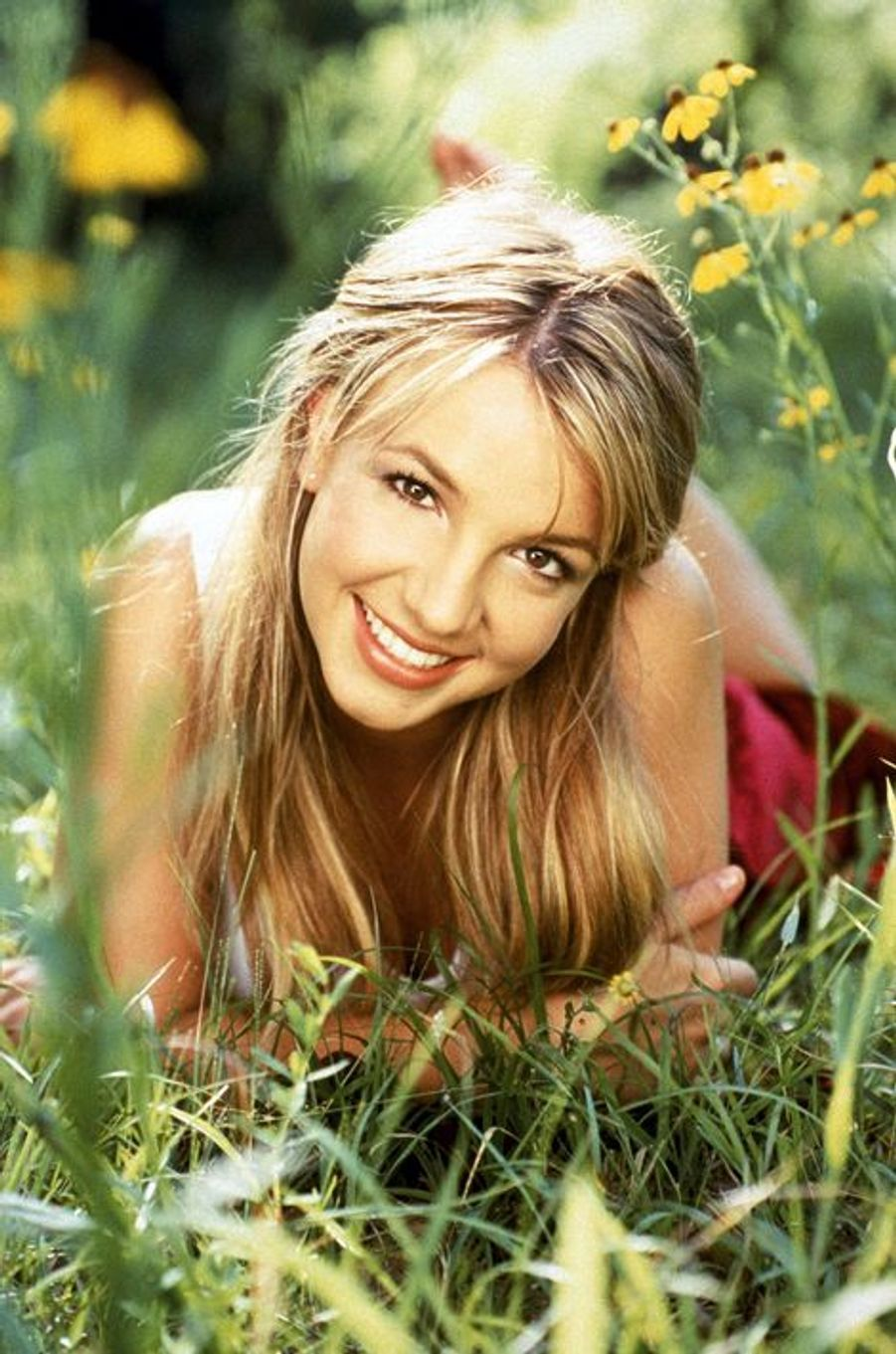 Britney Spears pose pour le magazine Billboard en 1999.