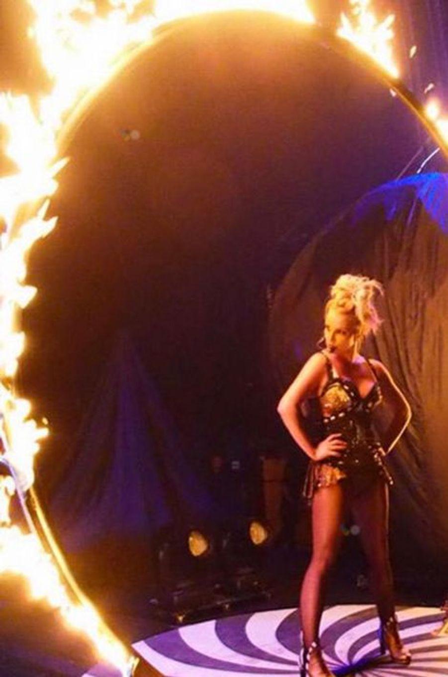Britney Spears sur la scène de Vegas !, le 25 août 2015