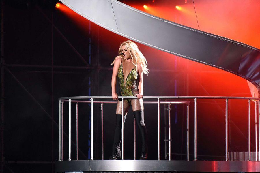 Britney Spears en concert à Las Vegas en 2017.