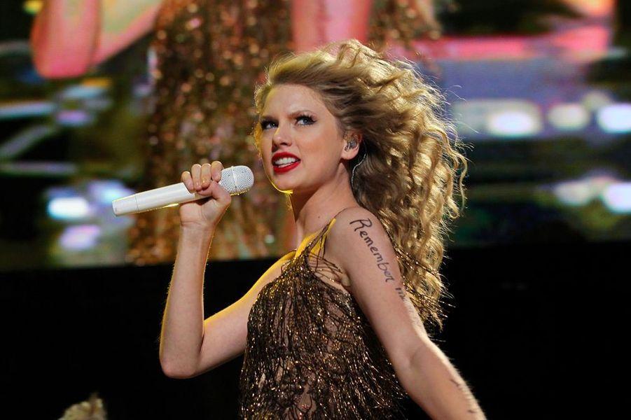 Taylor en concert à Nashville, juin 2011