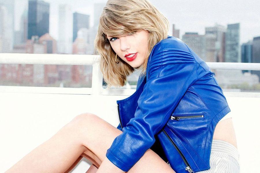 "Taylor Swift dévoile son nouvel album ""1989"", octobre 2014"