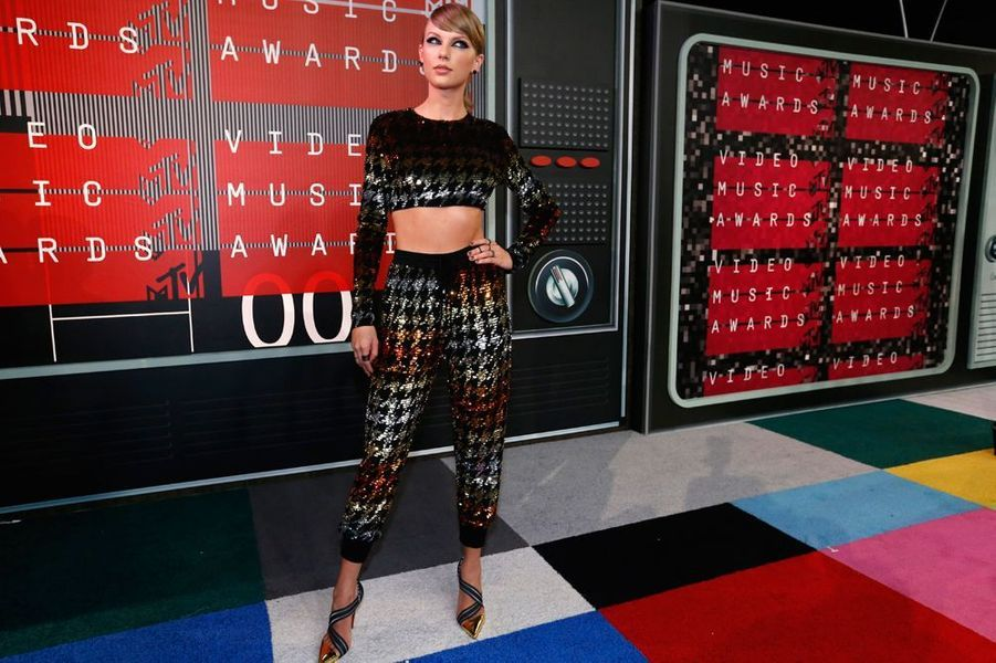 Taylor Swift, la reine des MYV VMA 2015, le 30 août 2015