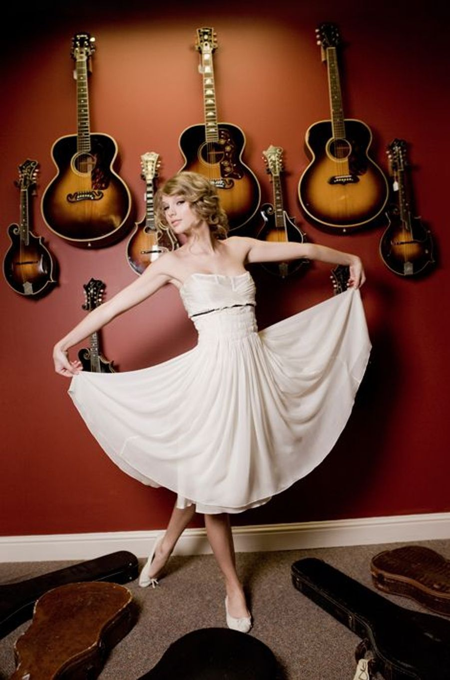 Taylor Swift pose pour Paris Match, août 2010