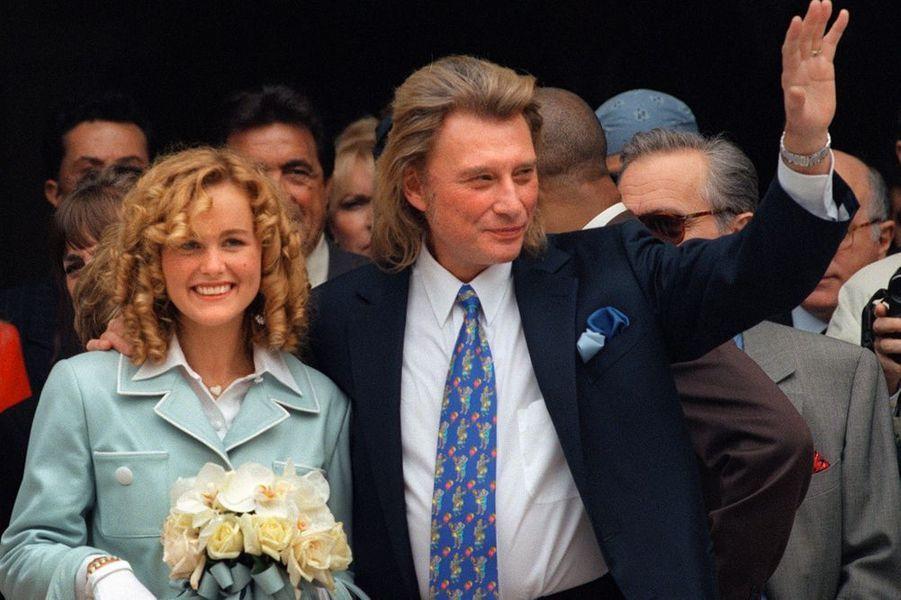 """Ils se sont dit """"oui"""" à la mairie de Neuilly, le 25 mars 1996"""