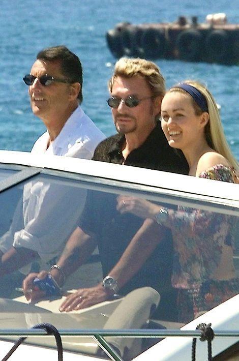 Johnny et Laeticia à Cannes, mai 1999