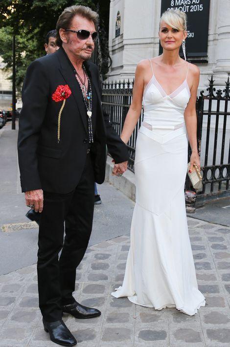 Johnny et Laeticia au gala Vogue, juillet 2015