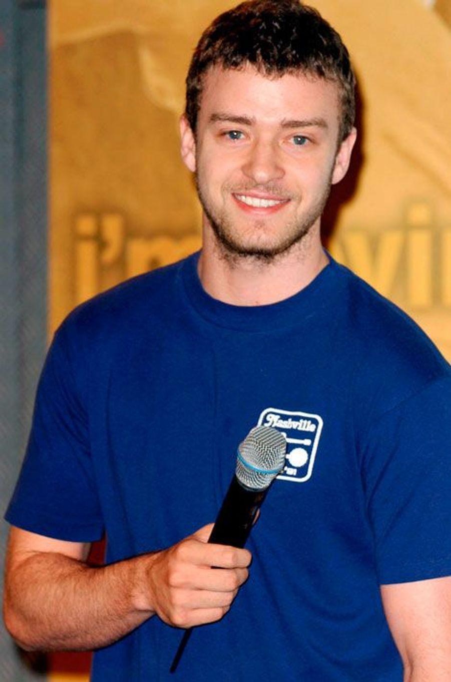 Justin Timberlake a 35 ans