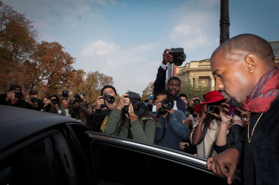 Kanye West, une star à Paname
