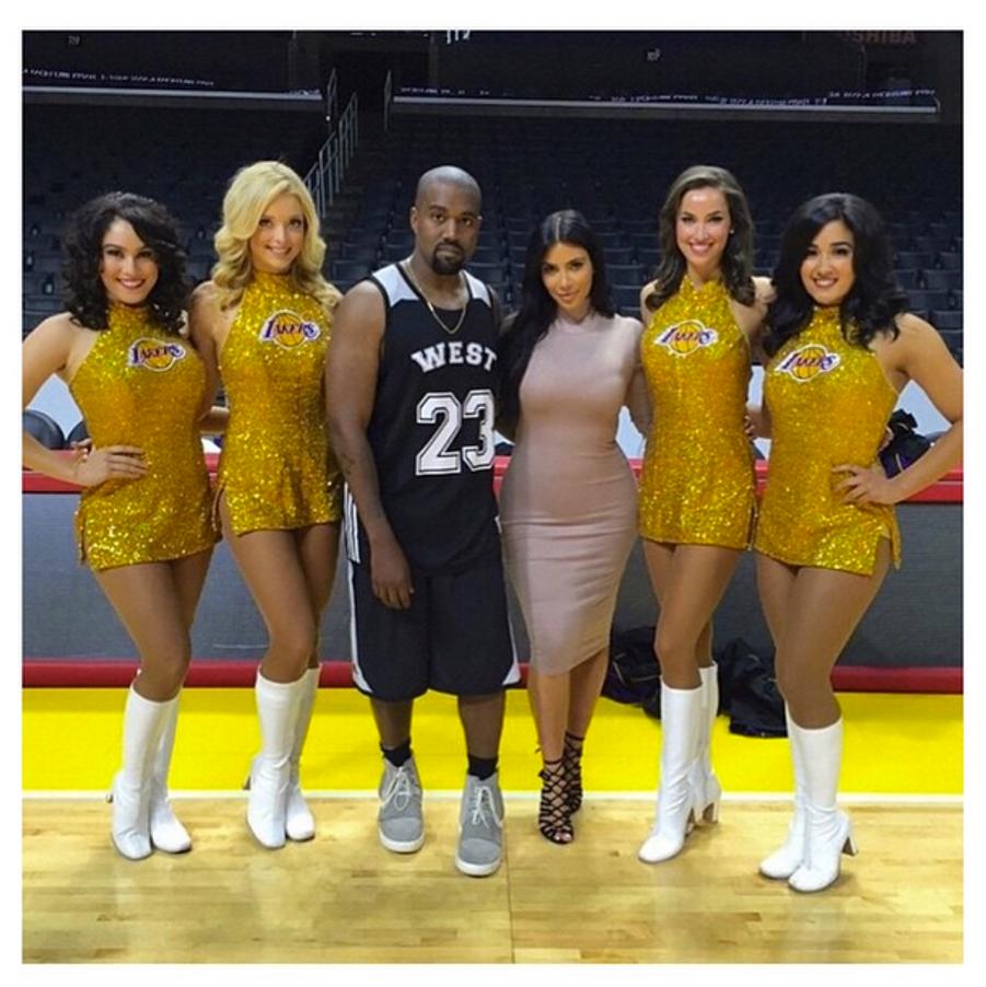 Kim Kardashian privatise le Staples Center de Los Angeles pour l'anniversaire de Kanye West