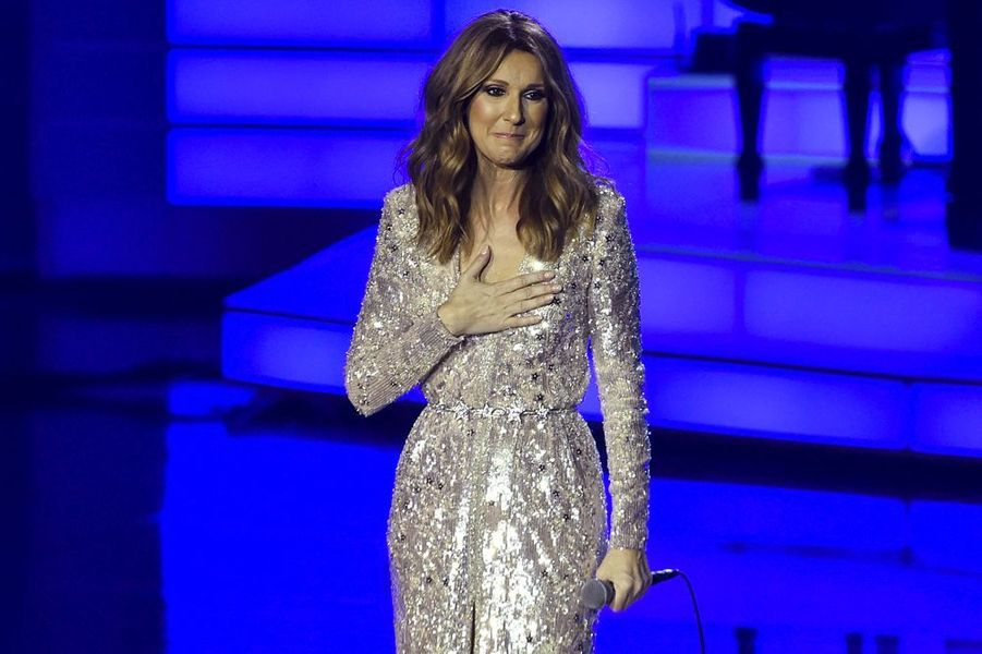 Céline Dion était de retour à Las Vegas, sur la scène du Colosseum, le 27 août 2015