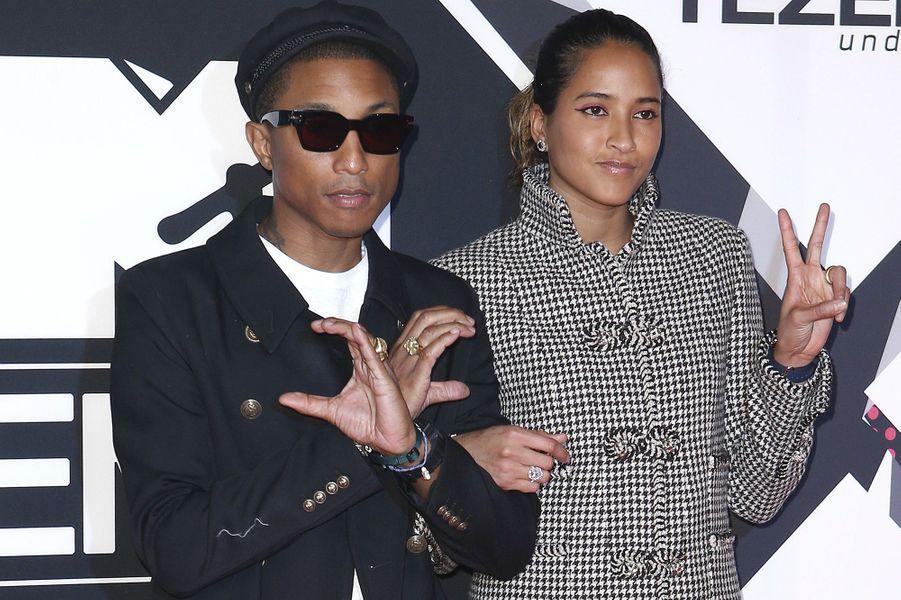 Pharrell Williams et son épouse