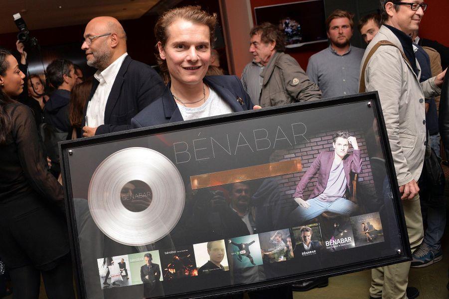 Bénabar célèbre ses 20 ans de carrière dans le 9e arrondissement de Paris