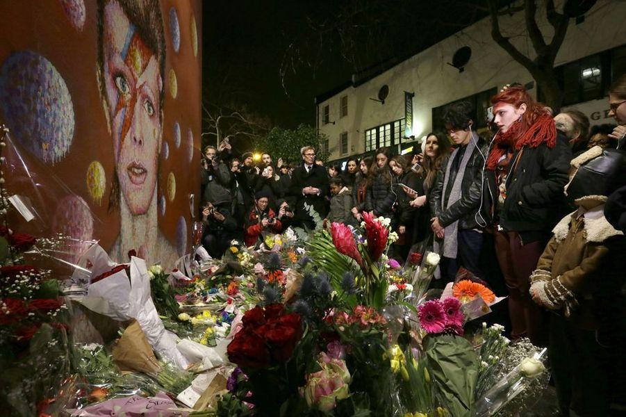 A Brixton, dans le sud de Londres, on se recueille en musique