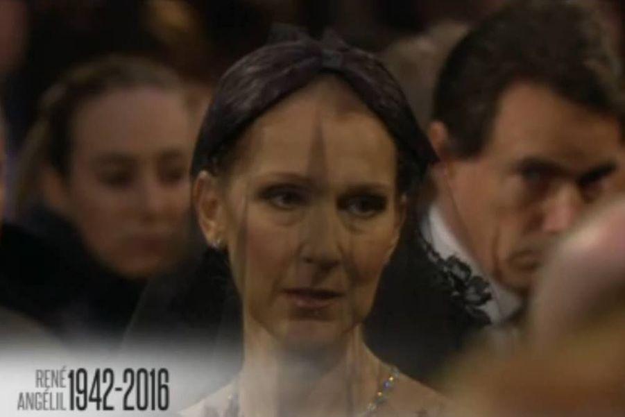 L'émotion de Céline Dion