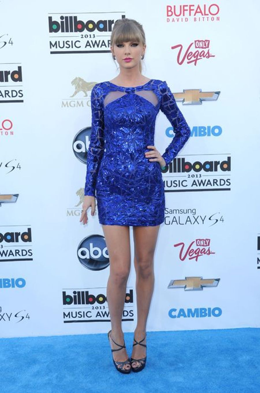 Taylor Swift en Zuhair Murad aux Billboard Music Awards, en mai 2013